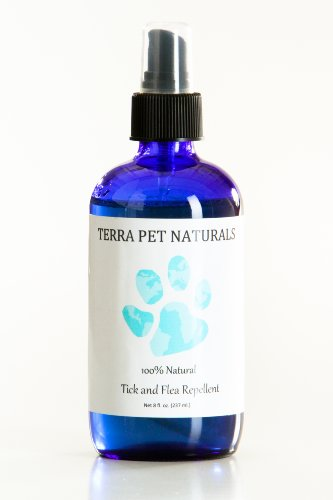 100% Natural Flea and Tick Repellent Spray for Dogs and Puppies, 8 oz., for Flea and Tick Prevention, Treatment, and Control. Effective, All-Natural and Organic Ingredients. - Organic Flea Pill