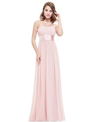 Vestidos Fuera de de de Ever Formales 09955 Maxi los Vestidos Rosa Vestidos Pretty Vestidos Honor de Dama Hombro xBqvO6