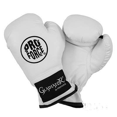 ProForce Gladiator Kid & Youth Boxing Gloves - WHITE