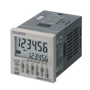 OMRON INDUSTRIAL AUTOMATION H7CZ-L8 AC100-240 Non-UL MELA,6 digit,8-PIN Cntr (Cntr Pin)