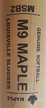 "Louisville Slugger WTLWBSB2MAINA34 34/"" MSB2 M9 Maple Wood Softball Bat ASA"