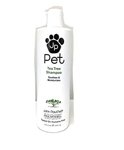 John Paul Tea Tree Shampoo for Soothing Moisturizing Skin 16 fluid ounces by John Paul (John Paul Pet Shampoo)