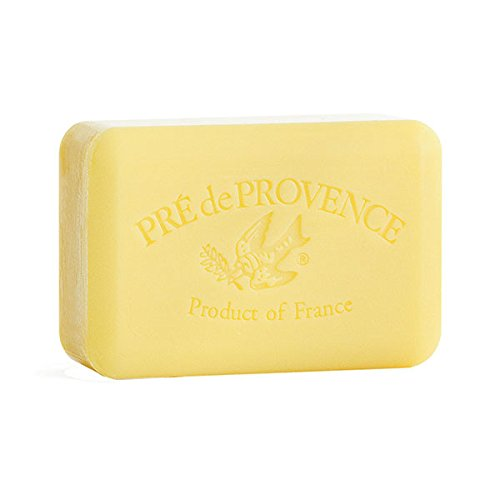 Pre de Provence Large 250g Shea Butter Enriched Soap, (Freesia, Fresh (250g Soap)