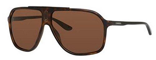 Carrera CA6016S Rectangular Sunglasses, Havana Black, 62 - Sunglasses Carrera 2014
