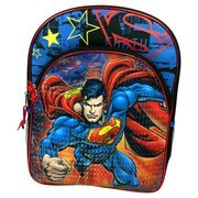 DC Comics Boys Backpack Superman Blue (Dc Backpacks For Boys)