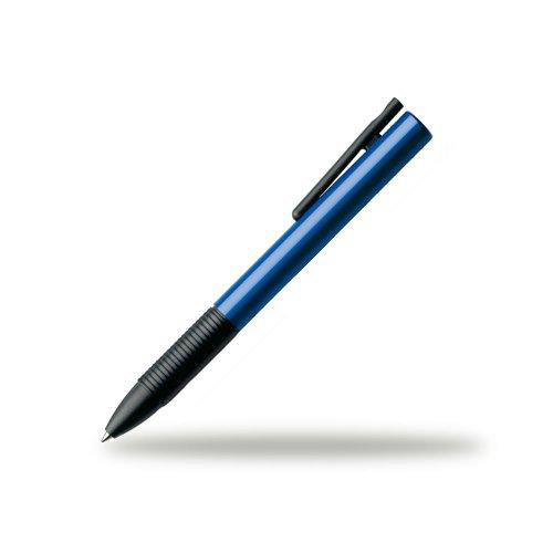 Lamy Plastic Pen - LAMY Tipo Cap Less Rollerball Pen Blue (L339BL)