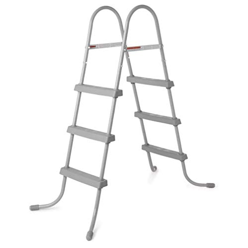 Bestway 36-Inch Steel Above Ground Swimming Pool Ladder Steps 58334E (Open Box)