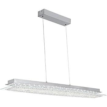 AUDIAN Pendant Light Pendant Lamp Dimmable LED Modern Chandelier K9 Crystal Bead Ceiling Flush Pendant Lamp for Living Room Restaurant Sitting Room ...