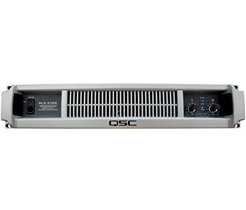 (QSC PLX3102 1000 Watt 2 Channel Lightweight Power Amplifier (Renewed) )