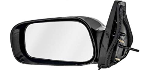 APDTY 0662545 Manual Side View Mirror Assembly Fits Passenger Side Right 2003-2008 Toyota Matrix (Replaces 8791002400, 8791002400A0, 8791002400B0, 8791002400C0, 8791002400D1, 8791002400J0)