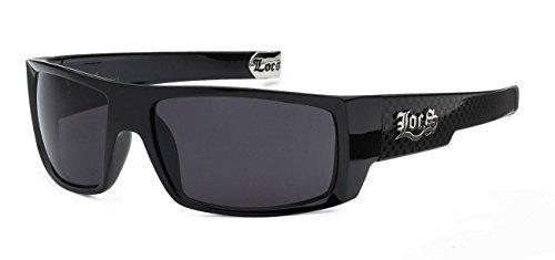 LOCS Classic Style Original Gangsta Shades Hardcore Sunglasses- Locs - Style Sunglasses Gangsta Locs Original