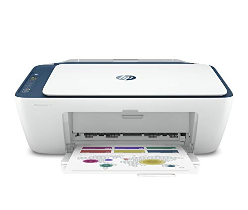HP Deskjet 2723 WiFi Colour Printer, Scanner and Copier for Home/Small Office, Dual-Band Wi-Fi, Voice Activated Printing…