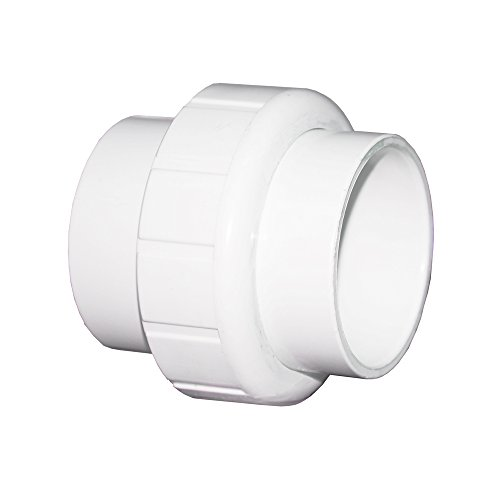 Schedule 40 PVC Pipe Slip x Slip Union (1/2