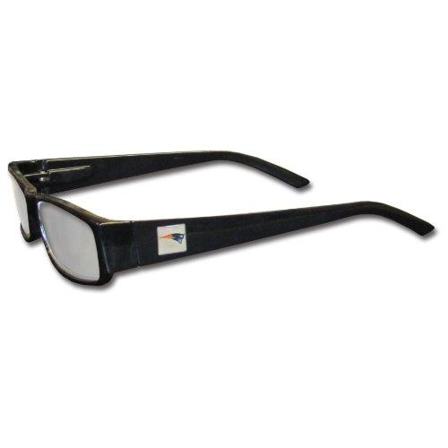 NFL Black Reading Glasses (+2.00, New England - Glasses England