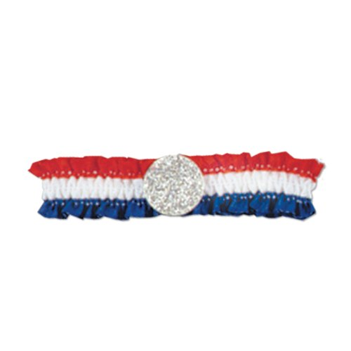 Patriotic Arm Band (red, white, blue) Party Accessory  (1 count)