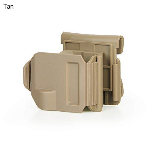 Clip Gun (DLP Tactical GlockClip Gun Clip MOLLE/Belt Holster for All Generations Glock 17 19 22 23 34 35 (Tan))