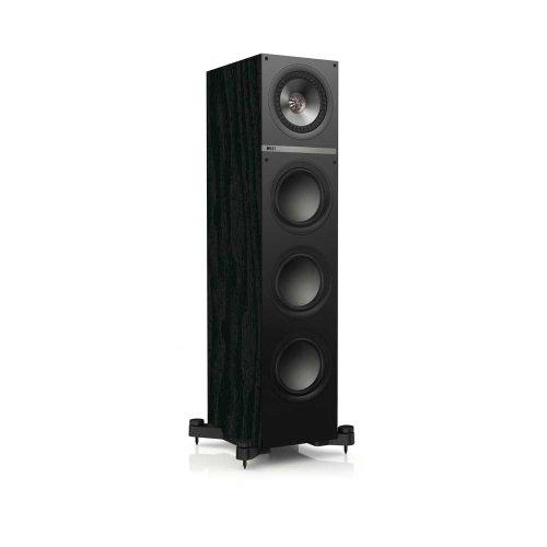 KEF Q700 Floorstanding Loudspeaker - Black Ash (Single) by KEF