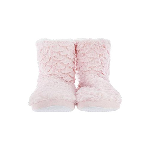 Atmosphera Chaussons Fausse Fourrure Rose 38/39