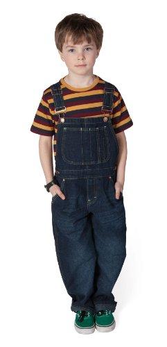 Uskees Kids Overalls Age 10 12 14 Dark Indigo Blue Girls Boys Overalls
