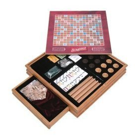 Parker Brothers Monopoly and Scrabble with Plus 4 Classic Games