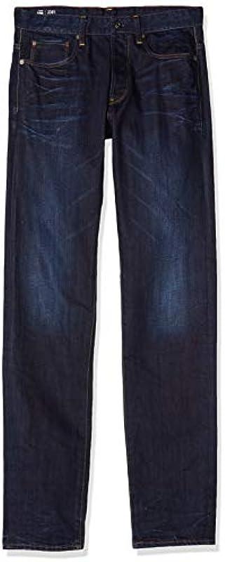 G-STAR RAW Męskie dżinsy proste 3301: Odzież
