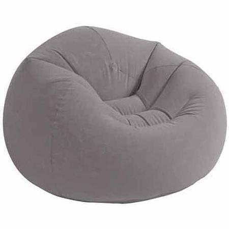 Intex Cushion Seat, Boasts Simple Unfold And Inflate Assembly
