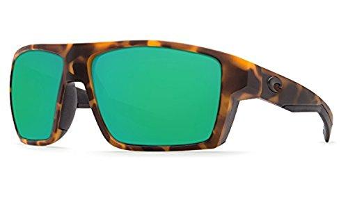 Costa Bloke Sunglasses Matte Retro Tort / Green Mirror 580G & Cleaning - Mar Costa Bloke Del