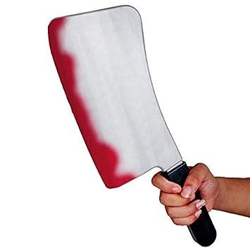 Cuchillo Carnicero Ensangrentado Gigante PVC-Arma Juguete ...