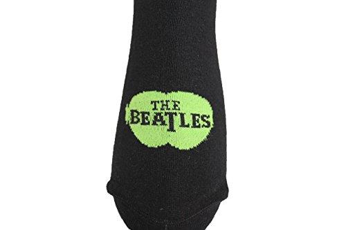 Schwarz de Calcetines hombre Negro The bajos Acts Beatles wxCqOfYI