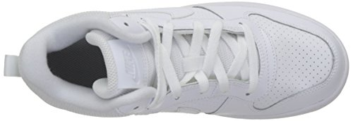 Blanc Nike white Borough gs Garçon Baskets Mid white Court white rnprv1wqYW