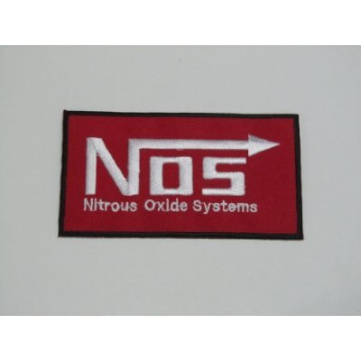 Amazon Nos Nitrous Oxide Systems Sign Symbol Iron On Patch