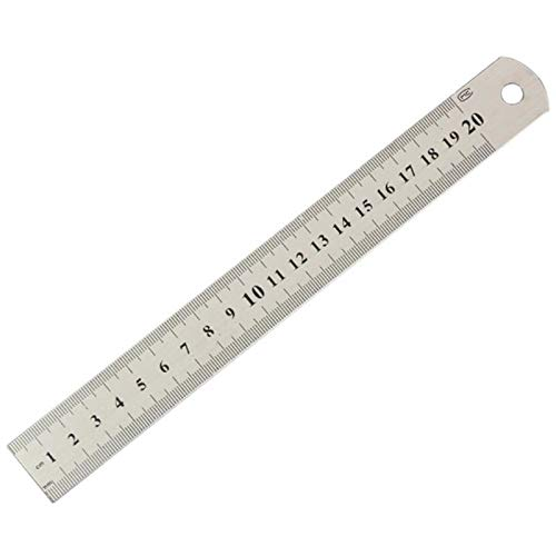 Tape Measures - Stainless Metal Ruler Practical Metric And Inches Measurement Double Sided Thick Precision - TapeMulti Retractable Kids Measures Bulk Body Scale Metric Keychain Track D