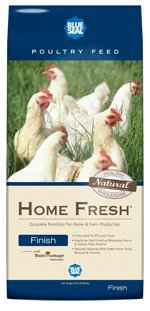 Kent Nutrition Blue Seal Home Fresh Finish Pellets for Chickens 50 Lbs. (50 Lb Chicken Feed compare prices)