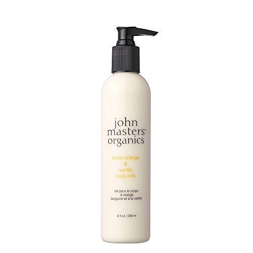 John Master Organics Body Milk, Blood Orange/Vanilla, 8 Fluid Ounce by John Master Organics
