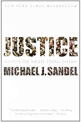 Justice -- What's the Right Thing to Do?