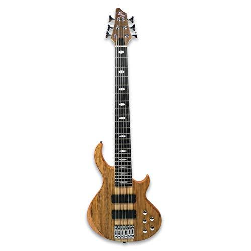 6 String Electric Bass Guitar Millettia Laurentii+Okoume body maple neck