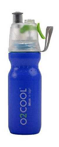 O2 Cool Mist 'N Sip Drinking and Misting Bottle ArcticSqueeze Classic - 20oz, - Mister Personal