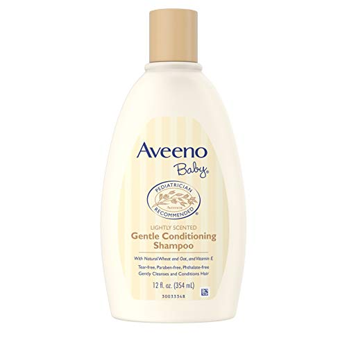 Conditioner Wheat Therapy - Aveeno Baby Gentle Conditioning Shampoo Lightly Scented 12 fl oz 354 ml