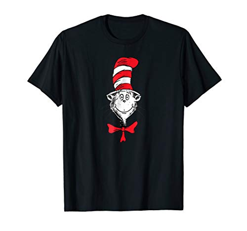 Dr. Seuss The Cat in the Hat Face T-shirt