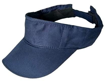 Buy starstep Cotton Plain Sun Visor Tennis Golf Cap for Boys Girls Without  Logo (Blue) Online at Low Prices in India - Amazon.in 34cc50fa1cb