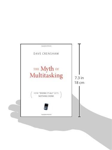 The Myth of Multitasking: How