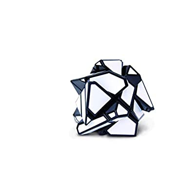 Ghost Cube by Mefferts- Speed Cube, Brain Teasers, One-Player Games, Shape Puzzle, Twisty Puzzle: Toys & Games