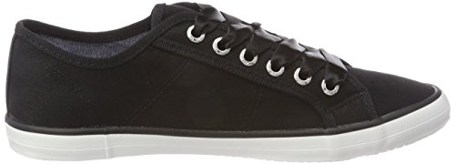 Tailor Chaussures Tom Femme Bateau black Schwarz 4890602 ZUwxwEqd