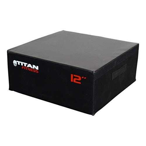 Titan Fitness 6-24 Portable Foam Plyometric Box
