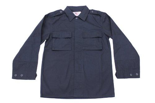 Navy Blue Bdu Shirt - 6