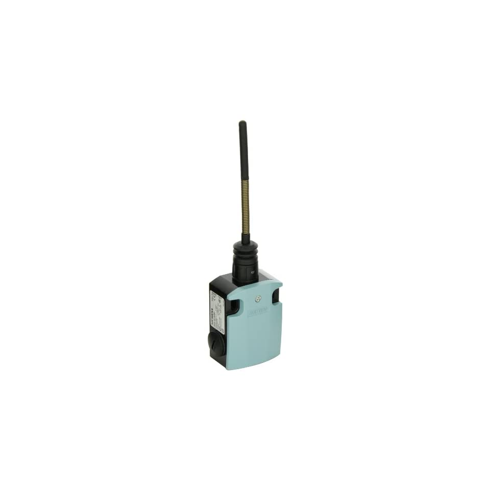 Siemens 3SE5 122 0CR01 International Limit Switch Complete Unit, Spring Rod, 56mm Metal Enclosure, 50mm Plastic Plunger, 142.5mm Length, Snap Action Contacts, 1 NO + 1 NC Contacts