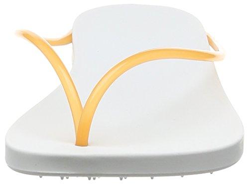 Ipanema Philippe Starck Thing M Fem - Sandalias de dedo Mujer Blanco - Weiß (white/orange 8475)