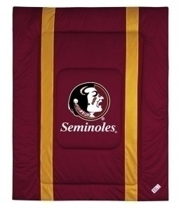 NCAA Florida State Seminoles Sidelines Comforter, King, Cordovan by Sports Coverage