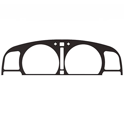 auge Cluster Dash Bezel Trim fits: 1995-2004 Toyota Tacoma With Tachometer (RPM Gauges) Automatic Transmission - Ferreus Industries - BZL-268-Carbon ()