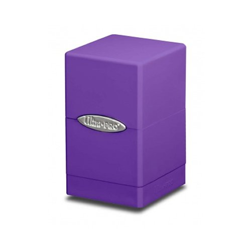 (Ultra Pro Purple Satin Tower Deck Box)